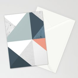 Modern Geometric 12 Stationery Cards