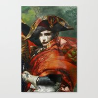 napoleon Canvas Prints featuring Napoleon by hyperionnebulae