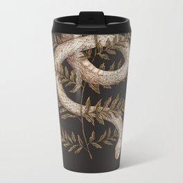 The Snake and Fern Metal Travel Mug