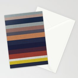 Ocean Sunset Canvas Stationery Cards