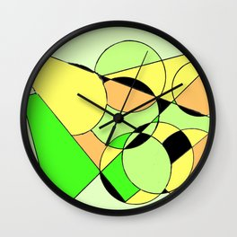 Bubbling over with Joy!                  by Kay Lipton Wall Clock