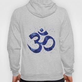 Ohm Symbol Blue Hoody
