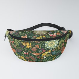 Treasures of the emerald woods Fanny Pack