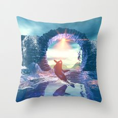 Orca Throw Pillow