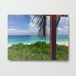 Bahamian Afternoon Metal Print