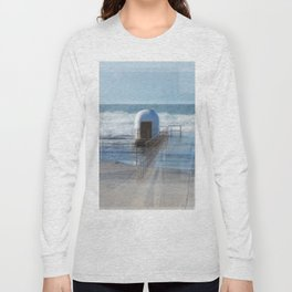 Merewether baths pumphouse Long Sleeve T-shirt