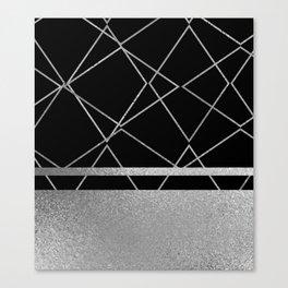Silverado: Black Canvas Print