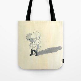 invisible backpack Tote Bag
