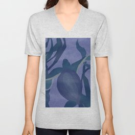 Leatherback Turtle Unisex V-Neck