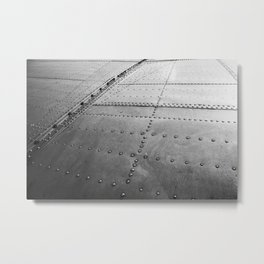 Douglas DC-3 Wing Abstract Metal Print
