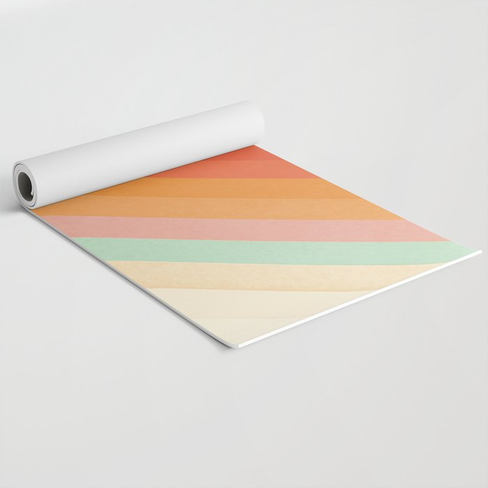 Rainbow Chevrons Yoga Mat