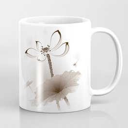 Oriental Lotus 003 Coffee Mug