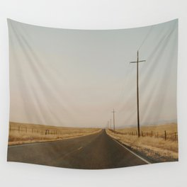 California Country Road Wall Tapestry