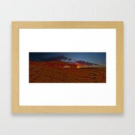 Sunset Arch Framed Art Print