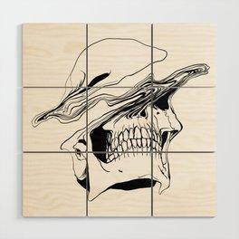 Skull #2 (Liquify) Wood Wall Art