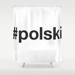 POLAND Shower Curtain
