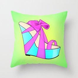 The Priss High-Heel Stiletto Throw Pillow