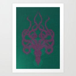 Jellykraken Art Print