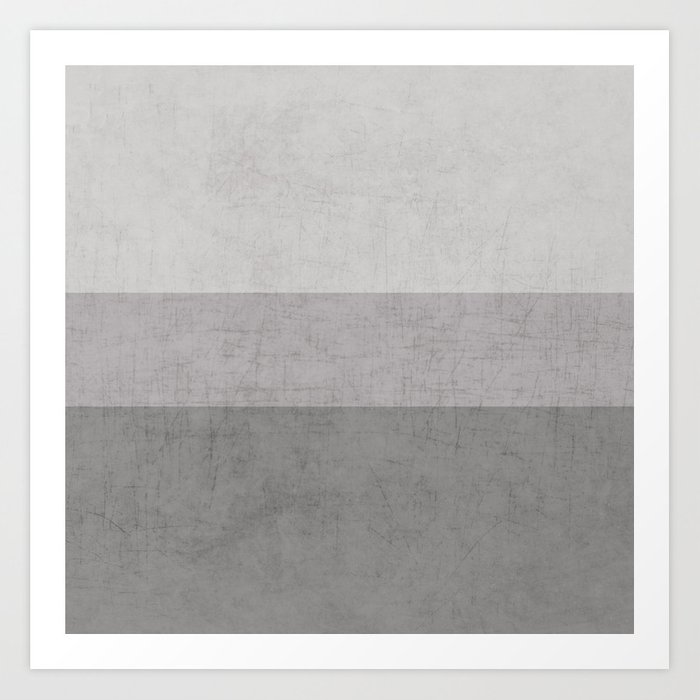 classic - the grays Art Print