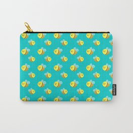 Bees - Pattern Carry-All Pouch