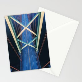 Symmetrical Crossing Stationery Cards