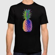 Pineapple MEDIUM Mens Fitted Tee Black
