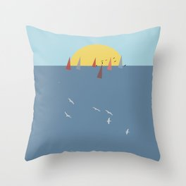 Regatar Throw Pillow