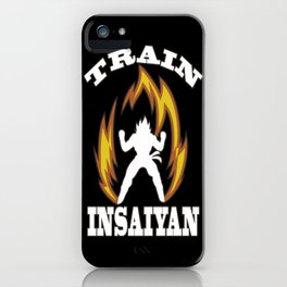 Train insaiyan iPhone Case