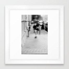Skateboarding! Framed Art Print