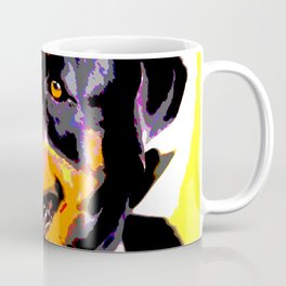 The ROTTIE from our POP YOUR POOCH line Coffee Mug