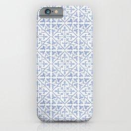 Blue Mosaic iPhone Case