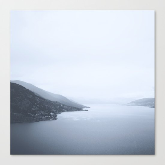 Okanagan Lake Canvas Print