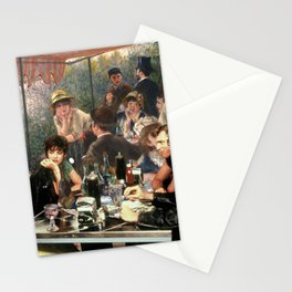 Renoir's Luncheon of the Boating Party & Grease Stationery Cards