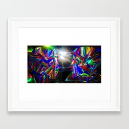 The5 Framed Art Print
