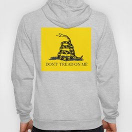 Gadsden flag Don't tread on me yellow and balck Hoody