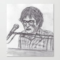 randy c Canvas Prints featuring Randy Newman by jamestomgray