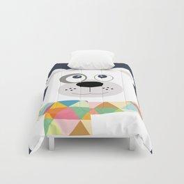 Polar bear blue Comforters