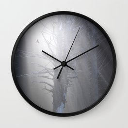 Sunrise in the Trump Forets. Wall Clock