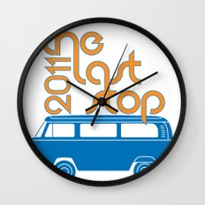The Last Stop 2011 Wall Clock