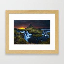 Kikjufell, Iceland Framed Art Print
