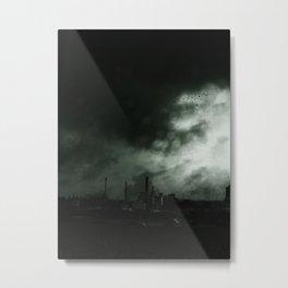 UTOPIA IS ON THE HORIZON Metal Print