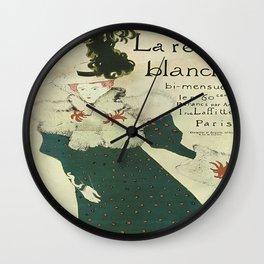 Vintage poster - La Revue Blanche Wall Clock