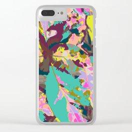 Claro de Luna Clear iPhone Case