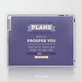 For I Know the Plans Laptop & iPad Skin