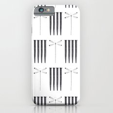 Dagonfly & nails iPhone 6s Slim Case