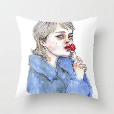 Sky lollipop  Throw Pillow
