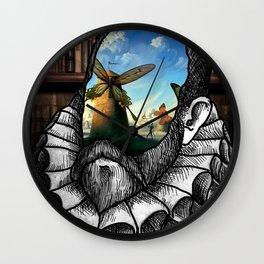 Cervantes para-dox Wall Clock