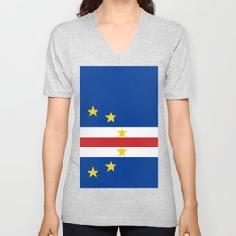 Cape Verde Flag Unisex V-Neck