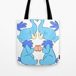 mammoth boy love Tote Bag