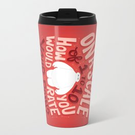 Rate your pain Travel Mug